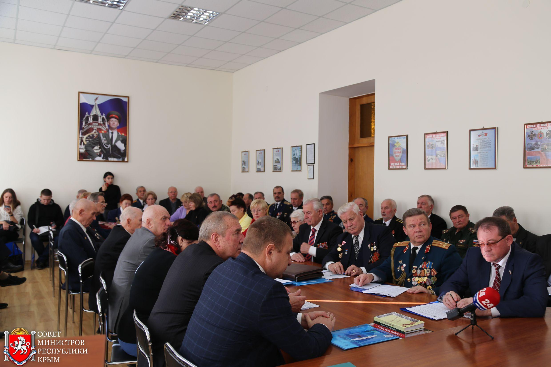 Дмитрий Полонский: Поддержка ветеранских организаций выходит на более высокий уровень