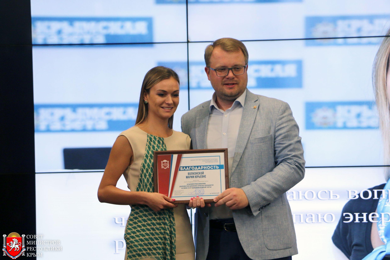 Дмитрий Полонский поздравил коллектив «Крымской газеты» с 83-летием издания