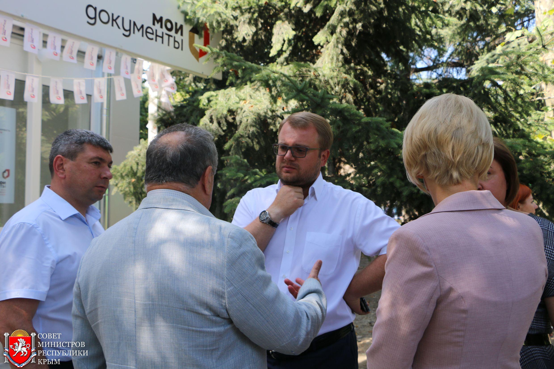 Дмитрий Полонский: С открытием нового МФЦ Большая Ялта на 100% будет обеспечена предоставлением государственных и муниципальных услуг