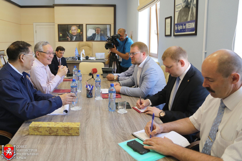 Дмитрий Полонский: Крым заинтересован во всестороннем сотрудничестве с научной элитой Китая